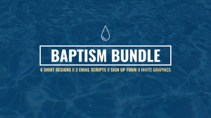 Baptism T-Shirts Files