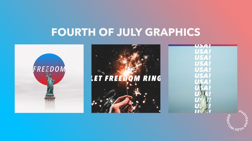 Fourth of July Graphics