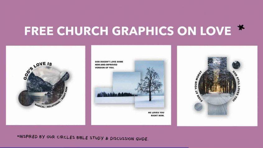 Free Church Graphics on Love