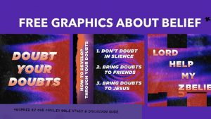 Church Social Media Graphics Belief