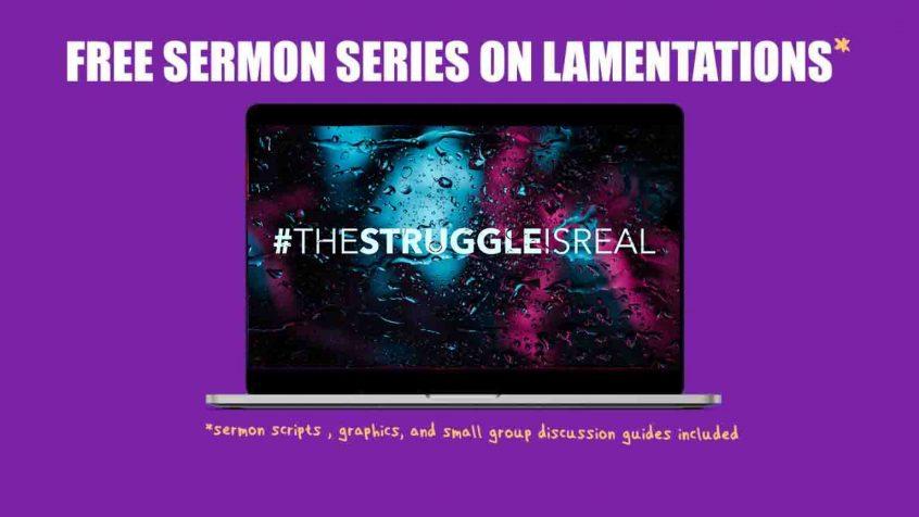 Lamentations Sermon Series