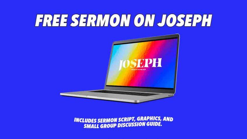 sermon on Joseph