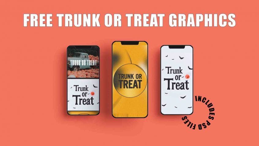 Free Trunk or Treat Graphics
